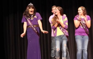 Steven Sanchez becomes Iowa's first trans* homecoming queen at University of Northern Iowa in Oct. 2013.